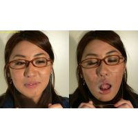 キス顔マニア 眼鏡由宇ちゃんガラス使ってキス!編【電子写真集】