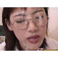ザーメンマニアのサークルVENOM 女医亜矢子のザーメン診察中、フェラ、ネバスペ、口内発射、一発の濃厚大量顔射