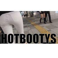 【HOT-MOVIE021】白デギンスのピタ尻歩行HD