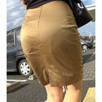 【HOT-MOVIE086】ピタピタサテンタイトスカート