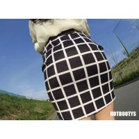 【HOT-MOVIE065】SEXYお姉さんタイトスカート歩行