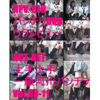 NPV-019 パンチラDVDウラレビュー ACT-NET 土手!土手!一級河川パンチラVol.8-Vol.11