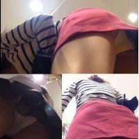 【HD】靴カメ君が行くPart313 【あどけない女の子のお尻にぴったりフィットした白のパンツ】