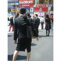 就活応援☆リクルートスーツで頑張ってる女子大生画像 JD 新人OL リクスー(13,14,15)セット!