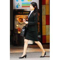 就活応援☆リクルートスーツで頑張ってる女子大生画像 JD 新人OL リクスー(24)