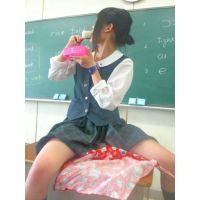 【校内写生】激エロ☆悪ノリしすぎのJKちゃんたち画像(6)