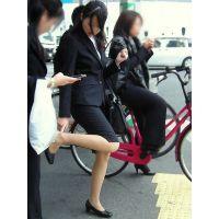 就活応援☆リクルートスーツで頑張ってる女子大生画像 JD 新人OL リクスー(9)