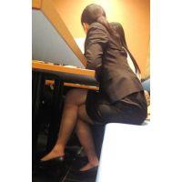 就活応援☆リクルートスーツで頑張ってる女子大生画像 JD 新人OL リクスー(3)