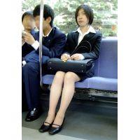 就活応援☆リクルートスーツで頑張ってる女子大生画像 JD 新人OL リクスー(4)