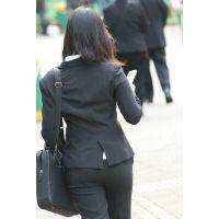 就活応援☆リクルートスーツで頑張ってる女子大生画像 JD 新人OL リクスー(20)