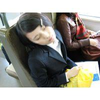 就活応援☆リクルートスーツで頑張ってる女子大生画像 JD 新人OL リクスー(8)