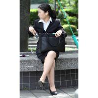 就活応援☆リクルートスーツで頑張ってる女子大生画像 JD 新人OL リクスー(2)