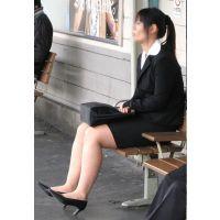 就活応援☆リクルートスーツで頑張ってる女子大生画像 JD 新人OL リクスー(7,8,9)セット