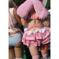 コスプレ2016夏ピンクと水色の2人組【動画】イベント編 2813