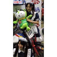 2015モーターサイクルショー撮影タイムメイド服コンパニオン【動画】イベント編 1225