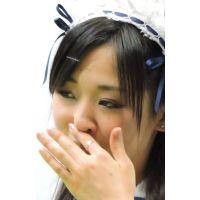 2015モーターサイクルショー顔を撮り続けますwメイド服コンパニオン【動画】イベント編 1213