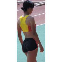 日本学生陸上競技選手権大会女子走幅跳【スローモーション動画】スポーツ編 3106