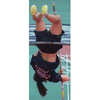 日本学生陸上競技選手権大会女子棒高跳【スローモーション動画】スポーツ編 3103