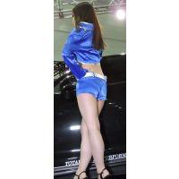 2015オートサロン胸の膨らみエロ脚コンパニオン【動画】イベント編 662