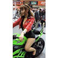 2015モーターサイクルショーバイクに乗るコンパニオン【動画】イベント編 1217と1205セット販売