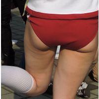 コスプレ2016夏ハミ尻体操着赤ブルマ【動画】イベント編 2803〜2808セット販売