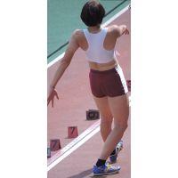 日本学生陸上競技選手権大会女子三段跳【スローモーション動画】スポーツ編 3114