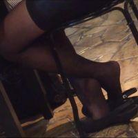 【動画】黒ストッキングのOL38(2シーン)