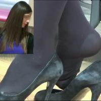 【動画】黒タイツのコンパニオン5