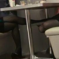 【動画】黒ストッキングのOL5