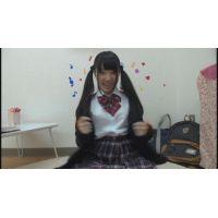 女子●生まりんちゃんの自画撮りオナニー
