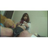 女子●生つむぎちゃんの自画撮りオナニー