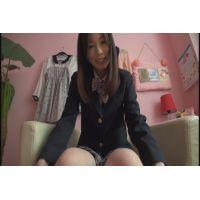 女子●生 さきちゃんの自画撮りオナニー