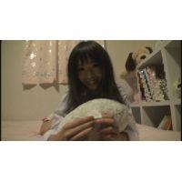 女子●生ゆうちゃんの自画撮りオナニー