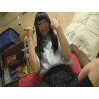 女子●生ゆりちゃんの自画撮りオナニー
