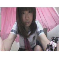 女子●生ゆいちゃんの自画撮りオナニー
