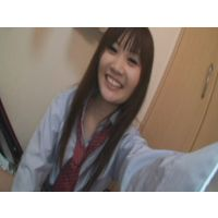 Female high school student Fuuka  self-shot masturbation