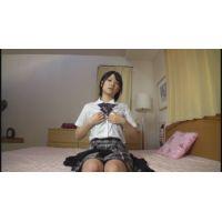 女子●生みなみちゃんの自画撮りオナニー