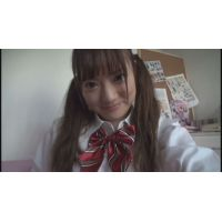 女子●生クルミちゃんの自画撮りオナニー