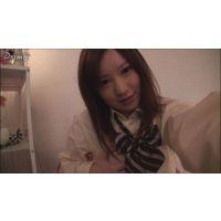 女子●生みゆちゃんの自画撮りオナニー