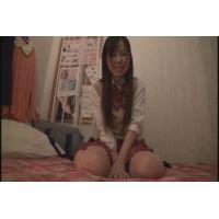 女子●生 せいこちゃんの自画撮りオナニー