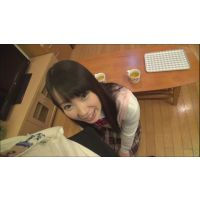 female high school student Shizuku mouth sperm fellatio