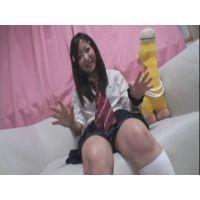 女子●生ゆきちゃんの自画撮りオナニー