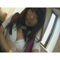 女子●生あさみちゃんの自画撮りオナニー