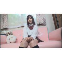 女子●生まなみちゃんの自画撮りオナニー