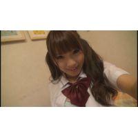 女子●生すずちゃんの自画撮りオナニー