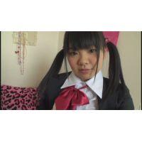 女子●生ゆみちゃんの自画撮りオナニー