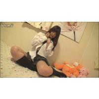 女子●生あすかちゃんの自画撮りオナニー