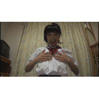 女子●生あいちゃんの自画撮りオナニー
