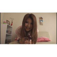 女子●生きよみちゃんの自画撮りオナニー