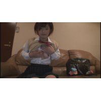 女子●生なつきちゃんの自画撮りオナニー